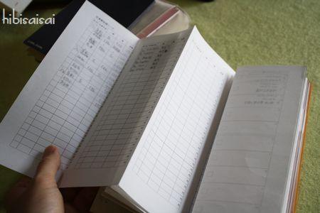 「超」整理手帳にA4用紙を収納