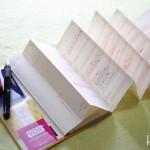 「超」整理手帳 シートをセッティング