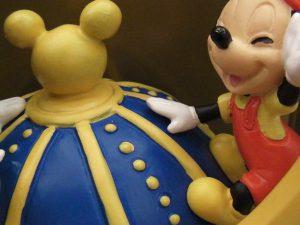 ディズニーの五月飾り アップ