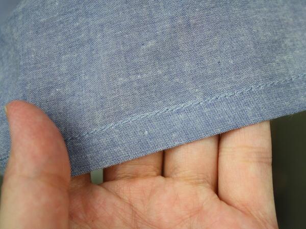 布地の厚み