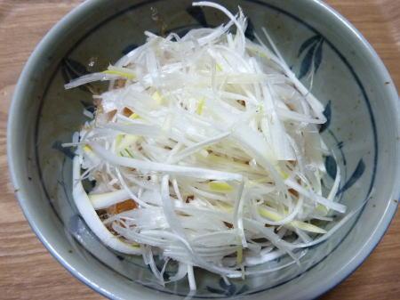 岩津ねぎの白髪ネギ