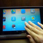 YOGA TABLET8レビュー ユーザー補助に挑戦