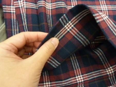 綿100%パジャマの生地