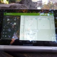 YOGA TABLET8にEVERNOTE