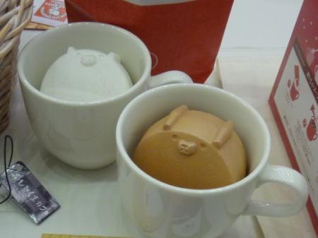マグカップに入った、しるくまカフェ