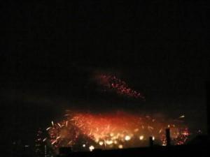 なにわ淀川花火大会 華やかな花火
