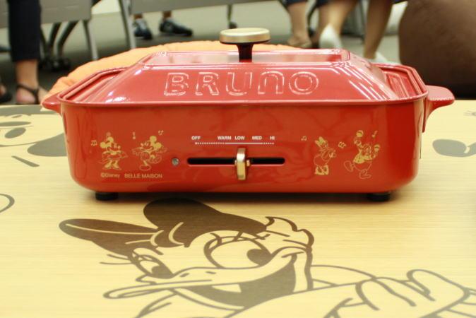 ブルーノのホットプレート
