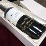 木箱で贈るデコボトルワイン