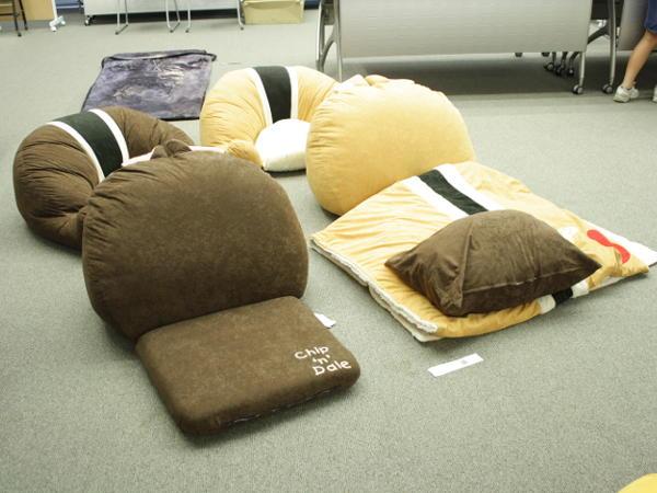 チップ&デールの座椅子