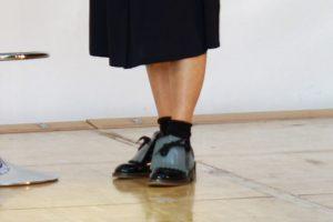 第1回目の靴