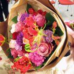 2013年母の日にムーンダストの魅力を贈る 日比谷花壇のデザイナーズブーケ