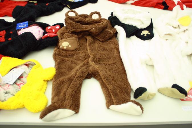アニマルジャンプスーツ クマ