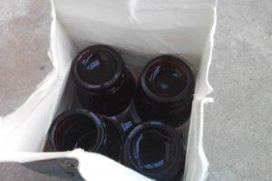 ドリンク瓶8本を入れてみたところ