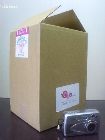 イイハナ・ドットコムのお届けの箱