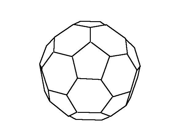 フラーレンの分子モデル