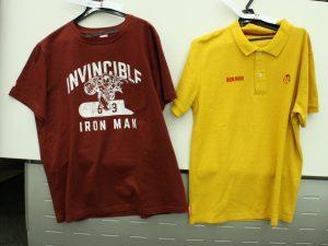 マーベルのTシャツとポロシャツ