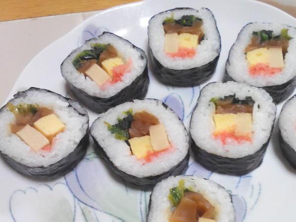 コープの冷凍巻き寿司