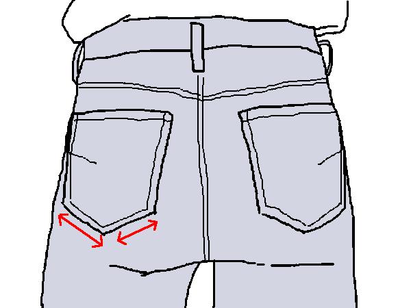 ポケットの視覚効果