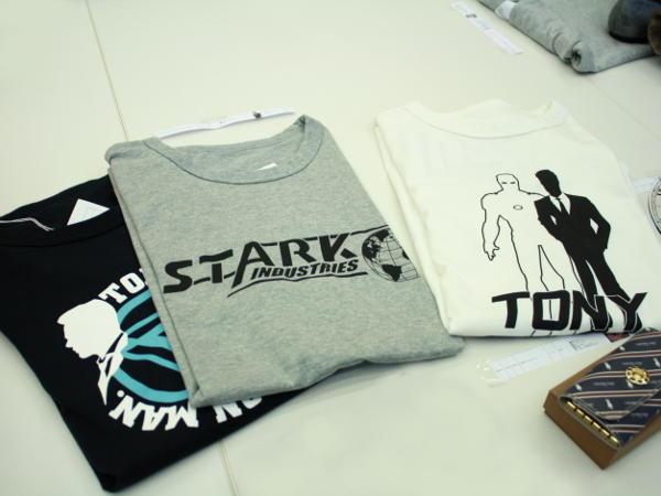 トニー・スタークのTシャツ